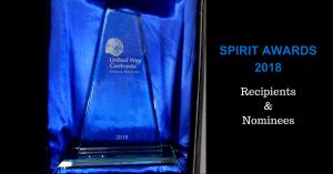 united way spirit awards