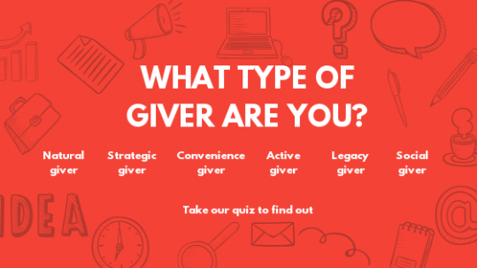 what kind of giver are you united way