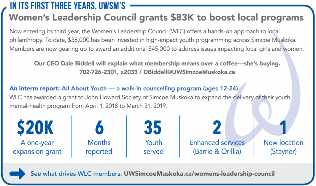 Description of WLC achievements after first three years
