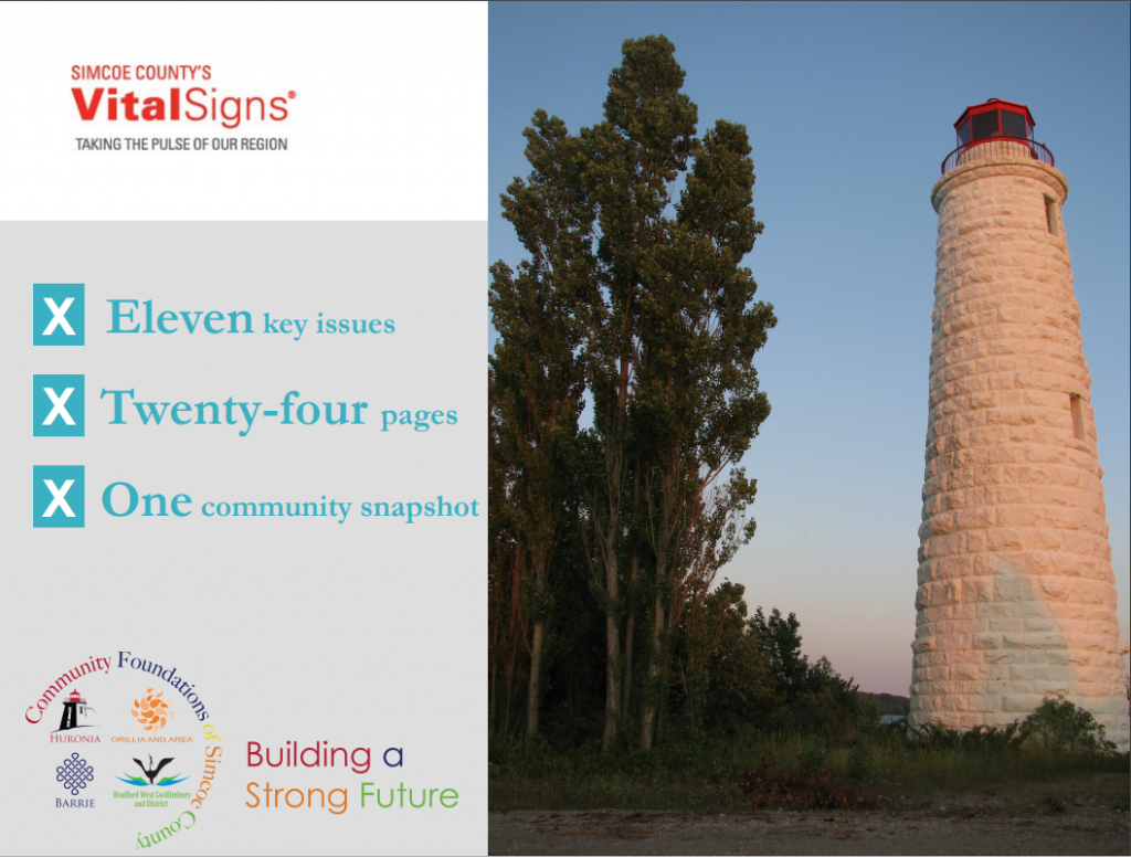 Cover of Simcoe County Vital Signs 2014