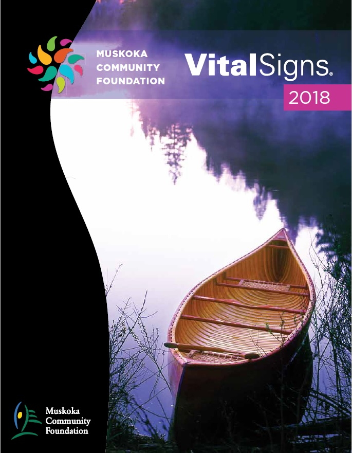 Muskoka VitalSigns 2018 cover