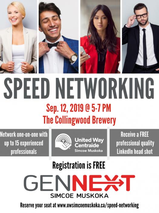 GenNext_ Speed Networking Poster