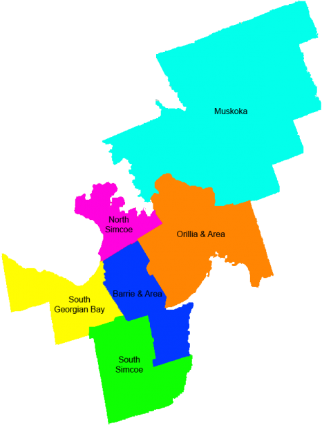 Subregions Map